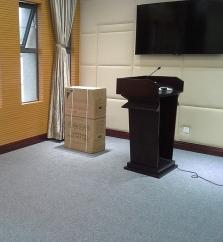 某部队学院会议室